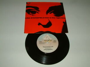 """Lisa Stansfield – This Is The Right Time – 7"""" Vinyl – [1989]"""