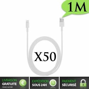 Lot Cable chargeur recharge sync renforcé iPhone 12/11/XR/XS/6S/iPad iPod Touch