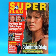 Super Illu 38-1992 | 10.09.1992 van Almsick Michael Schumacher Chaoten Rostock