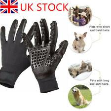 Pet Dog Cat Horse Cleaner Grooming Gloves Brush Hair Remover Shedding Massage UK