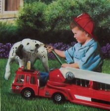 Jigsaw Puzzle Animal Dog Break from Training Fire Dalmatian 500 pieces NEW