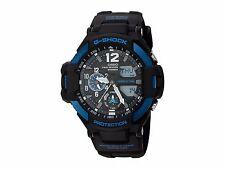 Casio G-Shock GA1100-2B G-Aviation Men's Sports Watch GA-1100-2BCR Black/Blue