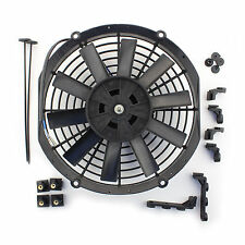 "ACP 10"" Universal Push Radiator Cooling Fan Straight Blades Replacement Unit"