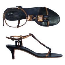 Jil Sander Designer Leder Elegant Pumps Schuhe schwarz 37,5 NEU
