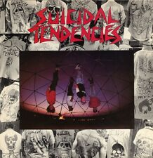 Suicidal Tendencies s/t First Album LP Colored Vinyl - Thrash Punk Metal Record