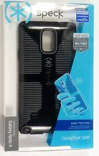 Speck SPK-A3194 CandyShell Grip Case for Samsung Galaxy Note 4, Black/Slate Grey