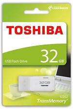 PEN DRIVE TOSHIBA 32 GB USB 2.0 CHIAVETTA