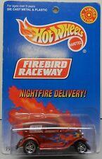 NIGHTFIRE DELIVERY FORD 32 RED FIREBIRD RACEWAY DRAG HW HOT WHEELS