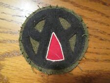 WWII US Army 89th Division Engineers Patch wool felt