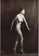 Vintage Alfred Cheney Johnston Female Nude Dancer Art Deco Photo Print b