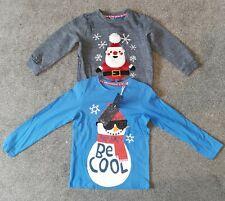 TU / F&F - Kids Christmas Tops (2) - Age 5-6