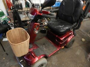 rascal pioneer 8mph mobility scooter