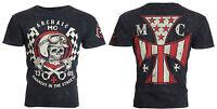ARCHAIC by AFFLICTION Men T-Shirt FUEL INJECTOR American Customs Biker $40 a