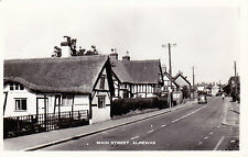 Staffordshire postcard MAIN STREET, ALREWAS August 1970