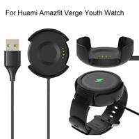 Fast USB Charger Charging Cable Dock For Xiaomi Huami Amazfit Verge Youth Watch