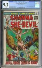 SHANNA THE SHE-DEVIL #1 CGC 9.2 WHITE PAGES