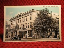 1930'S. WILLIAM TELL HOTEL. TELL CITY, INDIANA. POSTCARD F3