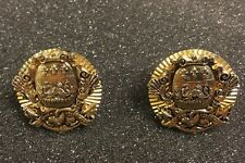 CUFF LINKS DRAGON CREST WITH ARROWS  pat.2472958 Vintage RARE
