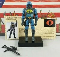 Original 2002 GI JOE NEO VIPER V1 figure UNBROKEN not Complete Cobra