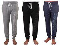Mens Warm SuperSoft Fleece Pyjama Joggers Lounge Nightwear 100% Cotton