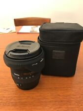 Sigma EX 10-20mm f/4.0-5.6 DC EX HSM Lens for Canon EF-S Plus Hoya HMC UV Filter