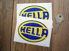 HELLA 4 in Classic Sports RACING & Rally Auto adesivi