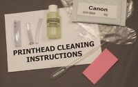 Canon QY6-0068, QY6 0068, QY60068 Printhead Cleaning Kit (Everything Included)SQ