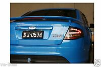 Ford Falcon FG XR6 Turbo Black LED Tail Lights Special Edition to suit Blue cars