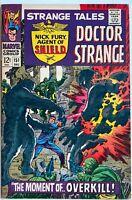 Strange Tales #151 1st Jim Steranko at Marvel NICK FURY DR. STRANGE