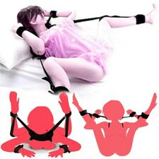 Restraints Kit Wrist Thigh Leg Restraint System Hand Ankle Cuff Bed Sex Play Toy