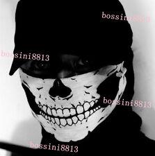 New Skeleton Ghost Skull Face Mask Biker Balaclava Costume Game