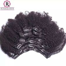 """Rosa Queen 16"""" Inch 4B / 4C Afro Kinky Human Hair Extentions"""
