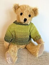 ++TEDDY CLOTHES++ new hand knitted jumper to suit a 12 inch bear