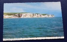 POSTCARD: THE WHITE CLIFFS OF DOVER: USED: POSTED: POST DATE ON CARD IS 1968