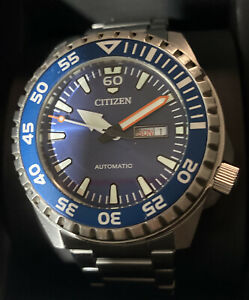 Citizen Mecha Automatik Promaster Taucheruhr Herrenuhr NH8389-88LE Analog  Edels