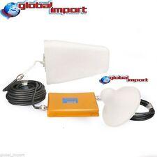 KIT AMPLIFICATORE RIPETITORE SEGNALE GSM UMTS 3G ANTENNA TRE + CAVO 10 METRI