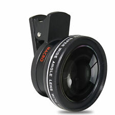 2 in 1 Mobile Phone Camera Lens 0.45x UV Wide Angle Macro Clip Set for i Phone