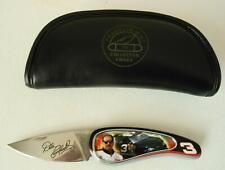 Dale Earnhardt Franklin Mint Folding Pocket Knife New in Padded Case/Pouch