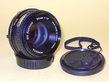 Minolta MD ROKKOR 50mm 1:1,7 lens in extremely good condition!