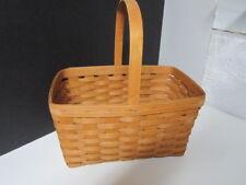 1990 Longaberger Medium/Large Market Basket With Handle