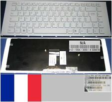 Azerty French Keyboard VAIO VPC-EA MP-09L16F0-8861 148792641 White, White frame