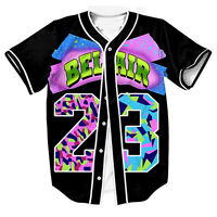 e6c6681b Air Bel Air 23 Baseball Tee Amerian Football Varity Jersey Sports Raglan T  Shirt