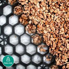 More details for gravel grid + membrane  - eco driveway grids car park paving eurogravel® black