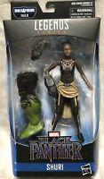 NEW Marvel Legends Series Black Panther SHURI 6in Figure BuildAFigure Hulk