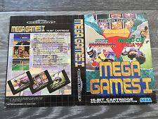 Sega Mega Drive : Mega Games 1 - Box Cover Art