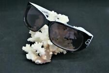 Jimmy Crystal Black & White Sunglasses /Swirl Swarovski Crystals