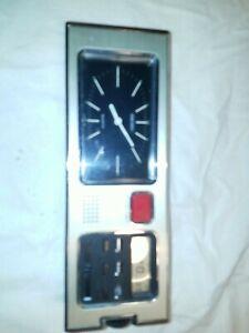 Vintage Seiko Mid Century Desk Table Clock Japan Rare SP304A 72104 Mechanical