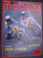 Moto 73 #19 2 september 1989 (NL) poster Samson Honda RS125 #3 Hans Spaan (NED)