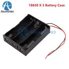 Plastic Battery Holder Box Case Diy For Battery Packs For 3x 18650 Cell Case diy