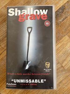 SHALLOW GRAVE ~ VHS
